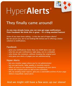 Hyper alerts fortsetter