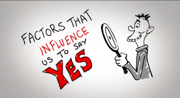 Influence to say Yes