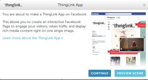 ThingLink create app